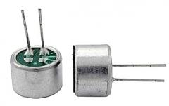 Электретный конденсаторный микрофон 9 * 7 мм (CZN-15E) с гибкими выводами