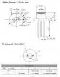 Лазерный диод лабораторный инфракрасный RLD808300 808nm 300мВт TO18 (5.6 мм)