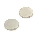 Неодимовый магнит (диск) NdFeB D8 x h1 мм N50