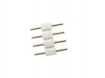 4-х контактный двухсторонний соединитель для светодиодных RGB-лент шириной 10 мм