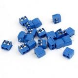 KF301-2P 5.0 синий клеммник винтовой