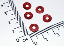 Изоляционная шайба M3 (внутренний диаметр 3 мм, наружный 8 мм) 1,0 мм толщина (упаковка 5 шт.)