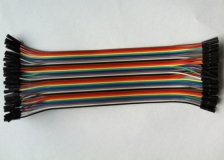 DuPont Line 1P-1P, 2.54мм, 30см, Мама-Мама (Female - Female)