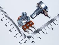 Переменный резистор 50 КОм (потенциометр, короткая ручка 15 мм, диаметр 6мм)