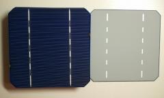 Монокристаллические кремневые пластины для солнечных батарей 125 х 125 мм, 2.85 Вт, комплект 38 шт.