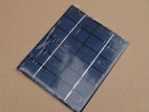 Поликристаллическая солнечная батарея 6В 0.33А , размер 136 х 110 х 3 мм