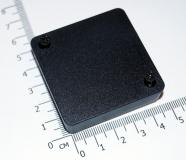 Корпус для РЭА пластиковый 51 * 51 * 15 мм (черный)