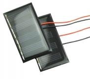 Поликристаллическая солнечная батарея 2В 60мА , размер 59 х 34 х 2.5 мм