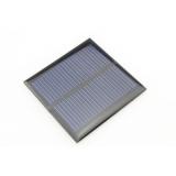Поликристаллическая солнечная батарея 5.5В 90мА , размер 65 х 65 х 3 мм