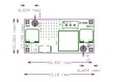 LM2596HVS DC-DC регулируемый преобразователь, вход 4.5-60В, выход 3-35В, ток 2А