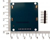 Nokia 5110 , LCD модуль , синяя подсветка (потертости и мелкие царапины на экране)