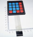 4 * 4 * 4 матрица,  модуль клавиатуры, мембранный переключатель/клавиатура, панель управления