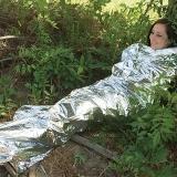 Водонепроницаемое спасательное одеяло для чрезвычайных ситуаций 210 х 130 см