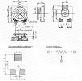 Потенциометр EVM3ESX50B15 100 КОм, 3мм, 0.15Вт (70°C ), ± 25%