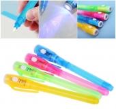 Ручка с невидимыми чернилами и ультрафиолетовым фонариком - Invisible Pen