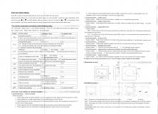 Термостат - сенсорный регулятор теплых полов, 2 датчика температуры, недельный график