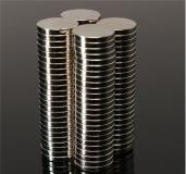 Неодимовый магнит (диск) NdFeB D10 x h1.5 мм N50