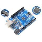 Плата Arduino DCcduino UNO r3 (ATmega328P CH340G)