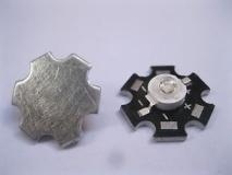 Светодиод инфракрасный 940 нм 1 Вт EPISTAR 120° (IF 1W High Power Led) с радиатором