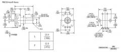 Энкодер для аудиотехники EC12, 360° вращение, 15.0 * 11.0 * 27.0 мм