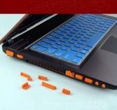 Комплект пылезащитных заглушек для ноутбука