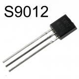 S9012H, (40В, 0.5A, 0.625Вт, 150МГц) p-n-p