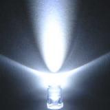 Светодиод ярко-белый 5мм (20-25°, 3.2-3.4В, 24-75 мА)