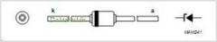 Стабилитрон 1N4730A, 3.9В, 5%, 1Вт, DO-41