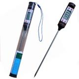 Цифровой LCD термометр-щуп -50° +300 °С (черный)