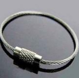 Разъемное кольцо для ключей, диаметр 5см