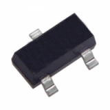 MMBT3904 (40В, 0.2A, 0.35Вт, 300МГц) n-p-n 2N3904 SOT-23-3