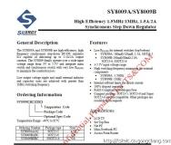 SY8009B (DC-DC 2А, 3-5.5В 1МГц понижающий регулятор напряжения SOT23-6) SY8009BABC