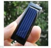 Поликристаллическая солнечная батарея 0.5В 100мА , размер 53 х 18 х 2.5 мм