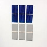 Монокристаллическая кремневая пластина для солнечных батарей 52 х 19 мм, 0.5В 0.28А 0.14Вт