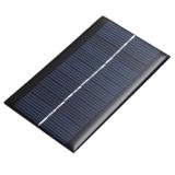 Поликристаллическая солнечная батарея 6В 0.16А 1Вт, размер 110 х 60 х 3 мм