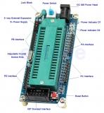 Программатор USB ATMEL для ATMEGA16, ATmega32 и т.д., AVR atmega128a-au + USB ISP USBasp