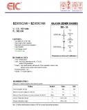 BZX55C15, Стабилитрон 15В, 5%, 0.5Вт, DO-35