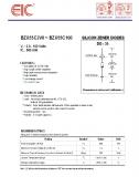 BZX55C20, Стабилитрон 20В, 5%, 0.5Вт, DO-35