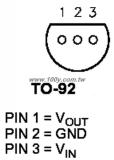 LE33CZ стабилизатор напряжения LDO 3.3В 0.15А TO-92