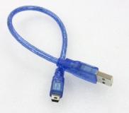 Кабель подключения arduino, фотоаппарата  и т.д., miniUSB 2.0 B (