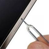 Шпилька для извлечения SIM карты в Iphone 8, 7,  6, 6S, 5, 5S, 5C, 4, 4S,  3, 3GS, Ipad, Samsung S7, S8