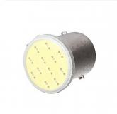 Светодиодная лампа для автомобиля, цоколь 1157 bay15d, 12В, 12 SMD COB светодиодов для сигнала поворота и стопа