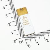 Миниатюрный USB светильник 5В, 4 светодиода 5050 , сенсорный выключатель, холодный белый свет