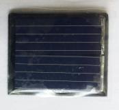 Поликристаллическая солнечная батарея 1.1В 55мА , размер 30 х 25 х 2 мм