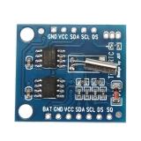 I2C модуль часов реального времени RTC 24C32 на микросхеме DS1307 + микросхема EEPROM AT24C32 без батареи CR2032