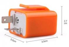 Реле прерывания 2-контактное 12В, нагрузка до 42Вт,  частота 50-200 раз в минуту