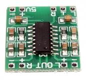 Миниатюрный стерео усилитель PAM8403 2х 3W 5В класс D rev.2