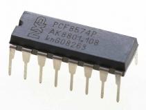 PCF8574P расширитель цифровых входов/выходов для шины I2C, DIP-16
