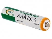 Аккумулятор BTY AAA1350, AAA Ni-MH 1.2 В 1350 мА/ч