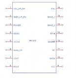 AR1310 TJ1310 Stereo Radio Module - модуль FM-приемника 64-108МГц с кнопочным управлением